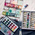 Peinture humide en humide
